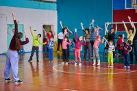 Маленькие участники праздника оказались самыми активными, ловкими и творческими.