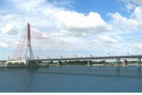 Предварительная стоимость проезда по мосту - 100 рублей