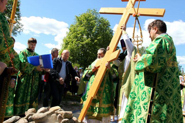 На строительство храма в Приладожском понадобится 40-50 млн рублей.