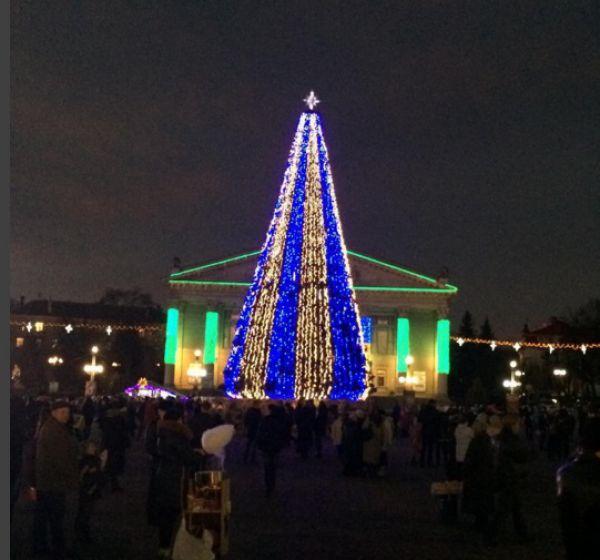 Главная елкаТернополя