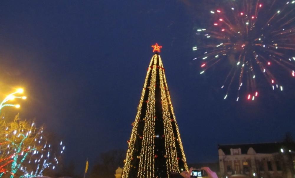 Главная елка Полтавы