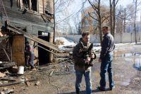 Дом по ул. Большой Печёрской должны были снести в декабре 2014 года, в марте 2015 года он сгорел.