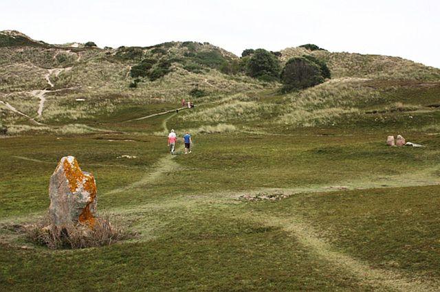 Менгир, Нормандские острова.