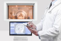 Первый опытный отечественный МР томограф создан в ФИАН.