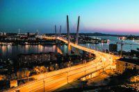 Золотой мост стал символом развития Приморья.