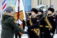 В Звёздном открыли Суворовское училище.