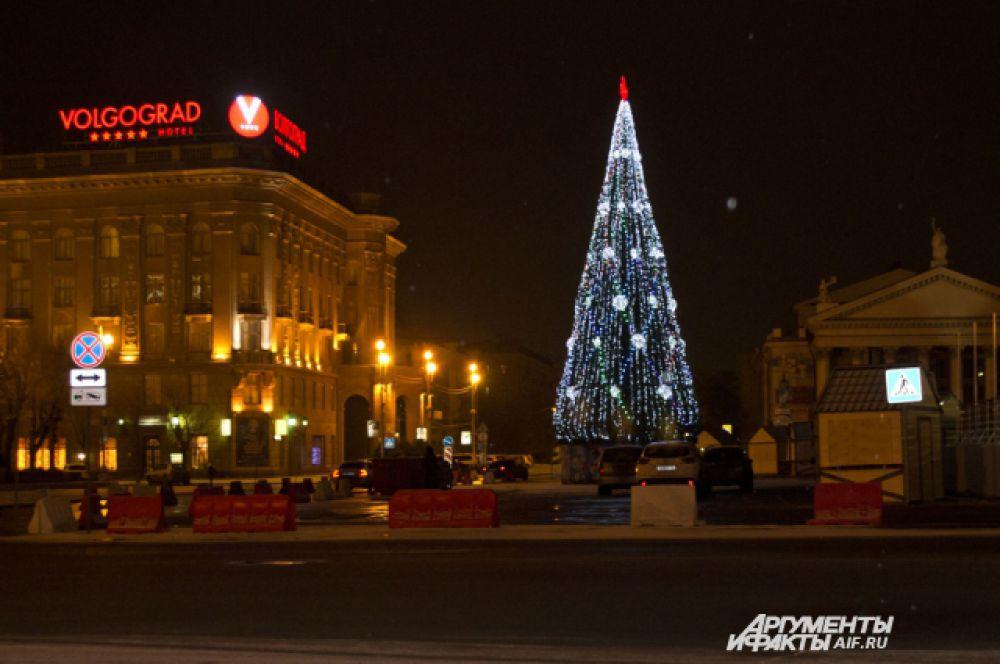 Главная ёлка Волгограда.