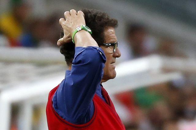 Бывший главный тренер сборной России по футболу Фабио Капелло.