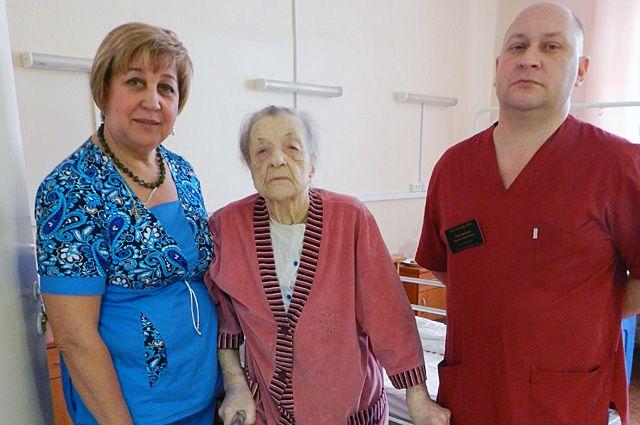 Н.В. Митюнина после операции.