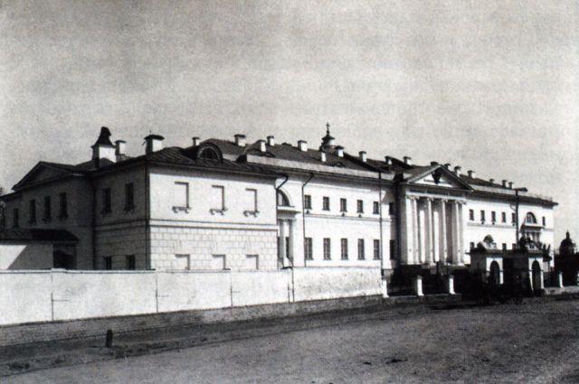 Больница имени императора Павла I. 1902 год.