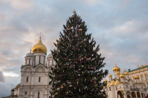 Главная новогодняя ёлка страны.