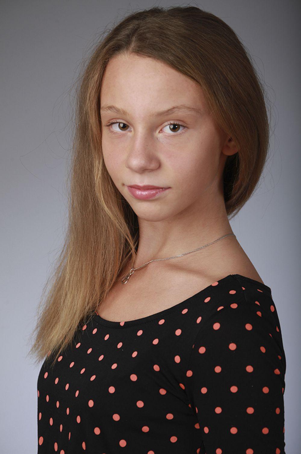 Ульяна Друбаш, 11 лет, 8-ой конкурс красоты и талантов  «Маленькая Мисс Вятка-2016». Старшая группа.