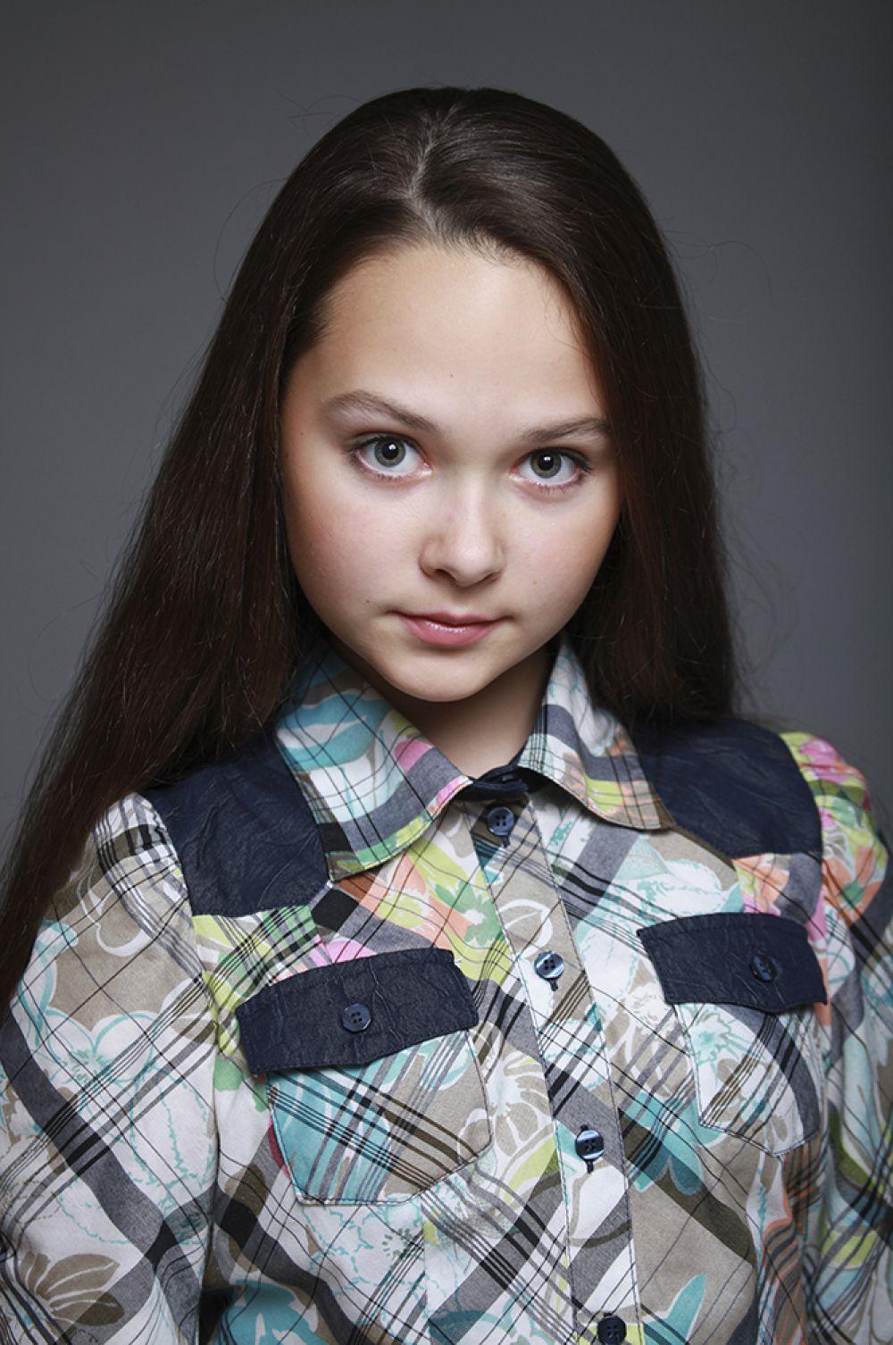Дана Конышева, 11 лет, 8-ой конкурс красоты и талантов  «Маленькая Мисс Вятка-2016». Старшая группа.