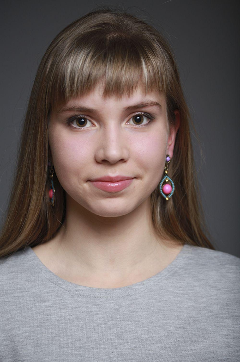 Анастасия Ванеева, 15 лет, 26-ой конкурс красоты и талантов «Мисс Вятка-2016».