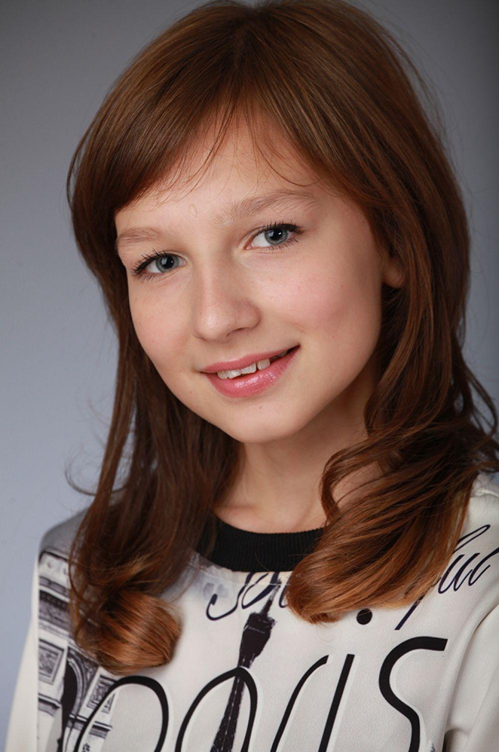 Злата Печенкина, 12 лет, 6-ой конкурс красоты и талантов «Юная Мисс Вятка-2016».
