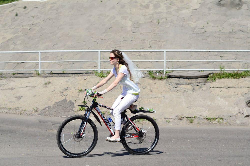 Анастасия Шестопалова, 31 год, занимаюсь велоспортом 5 лет