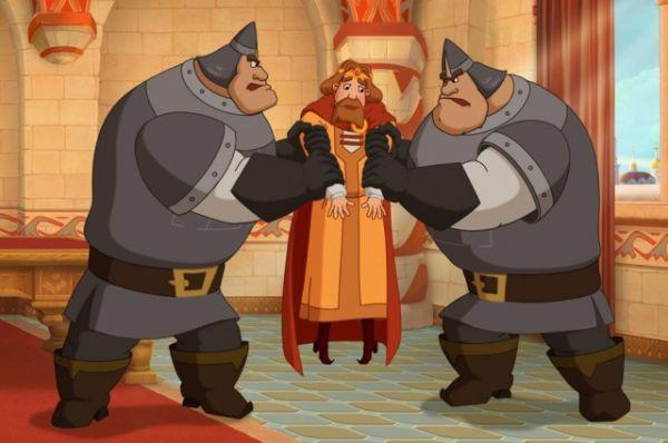 Три богатыря. Ход конём. 10-й российский полнометражный мультик о приключениях Ильи Муромца в X веке.