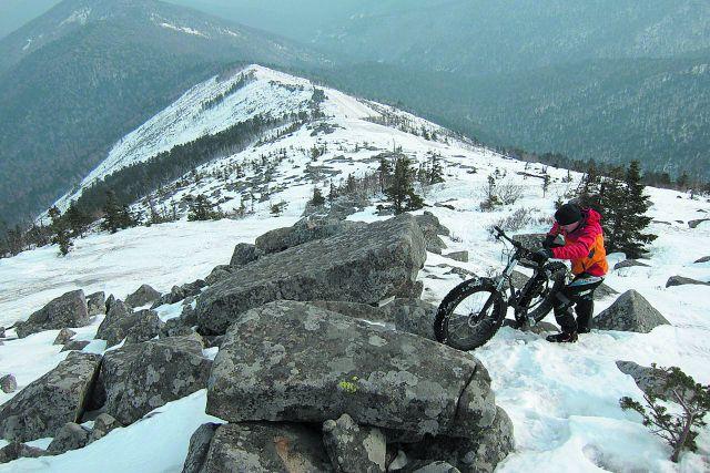 Велопробег на вершину горы - чем не экзотика?