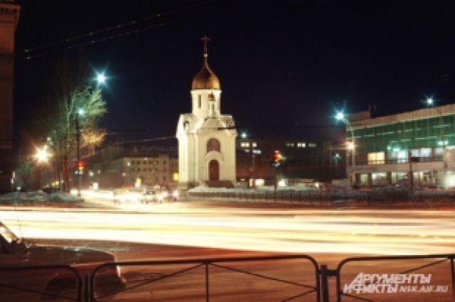 Многие новосибирцы встретят Новый год на пл. Ленина
