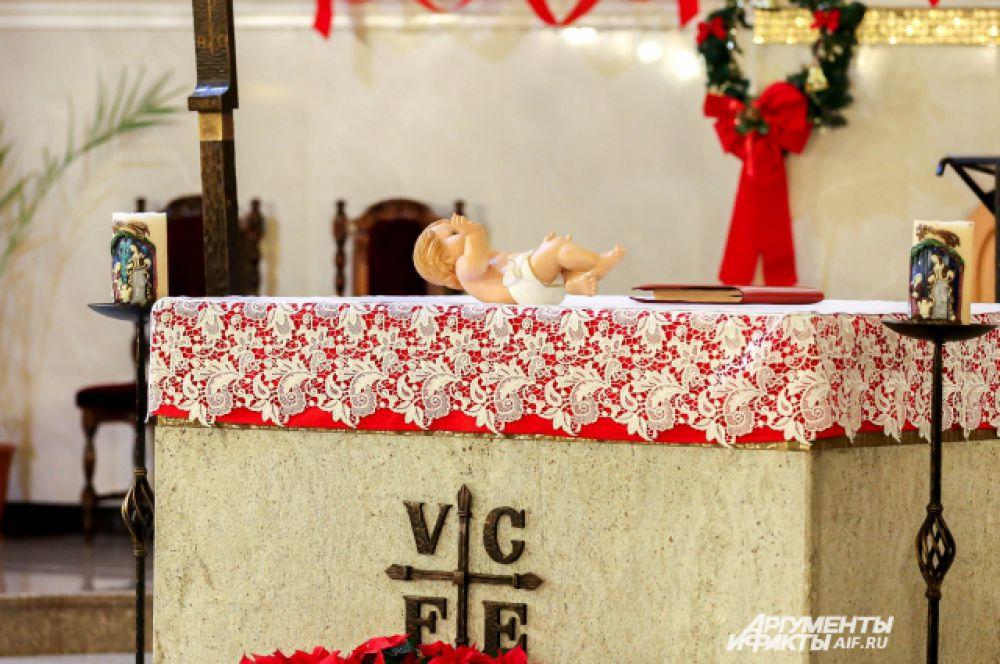 Кукла символизирует образ младенца Христа.