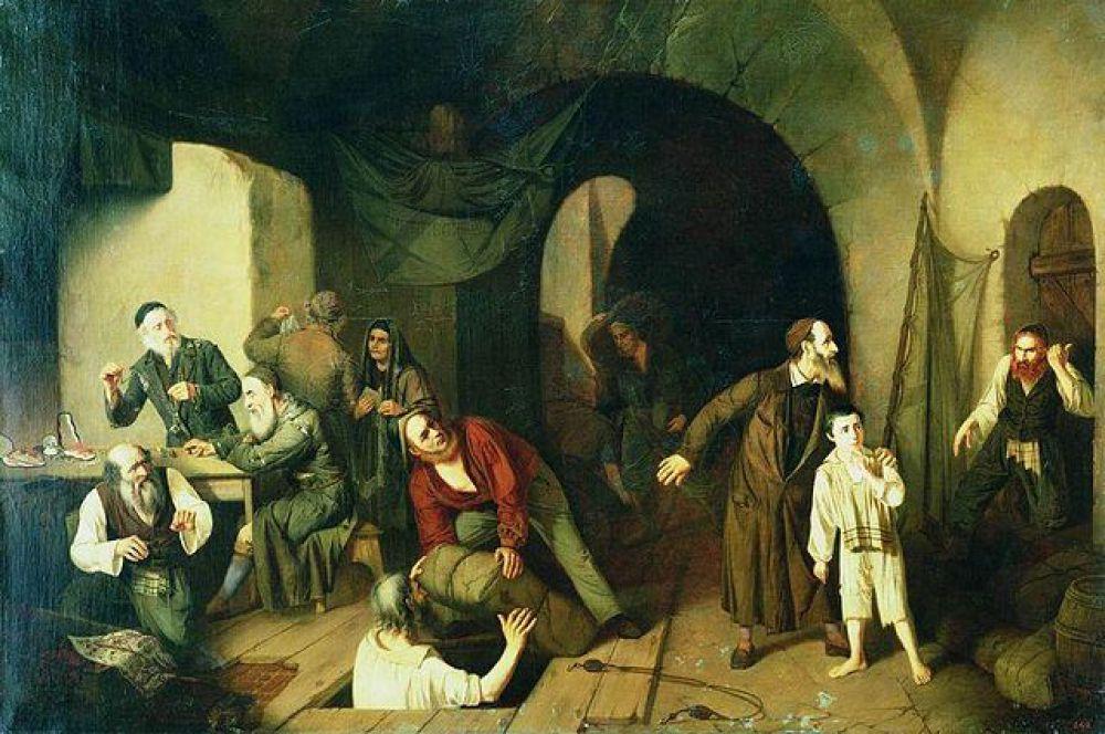 Профессор Императорской Академии художеств Александр Риццони, создавая полотно «Жиды-контрабандисты», вряд ли думал о том, что спустя 155 лет это слово будет звучать оскорбительно.