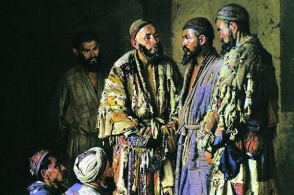 К другой картине Василия Верещагина могут придраться уже власти. Название полотна «Политики в опиумной лавочке. Ташкент» дискредитирует власть.