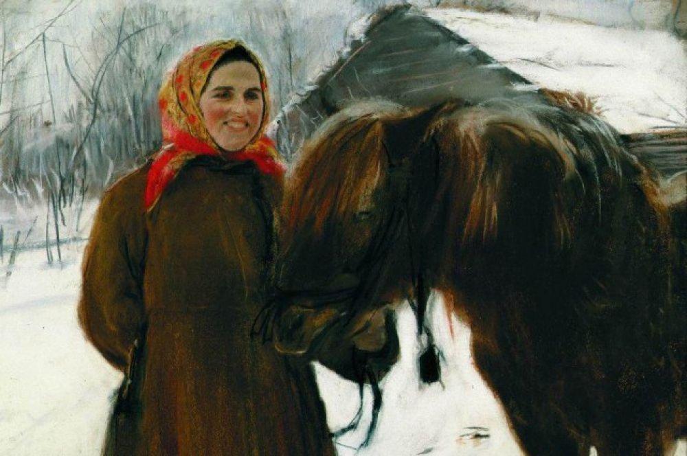 Названия картин Валентина Серова «Баба в телеге», «Баба с лошадью» могут оскорбить чувства женщин. Если следовать логике голландского музея, их следует переименовать в «Девушка с лошадью» и «Женщина в телеге».