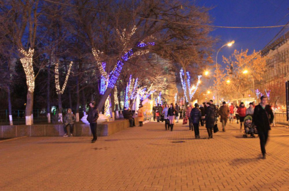 Ростов-на-Дону живет в предвкушении новогодних и рождественских праздников.