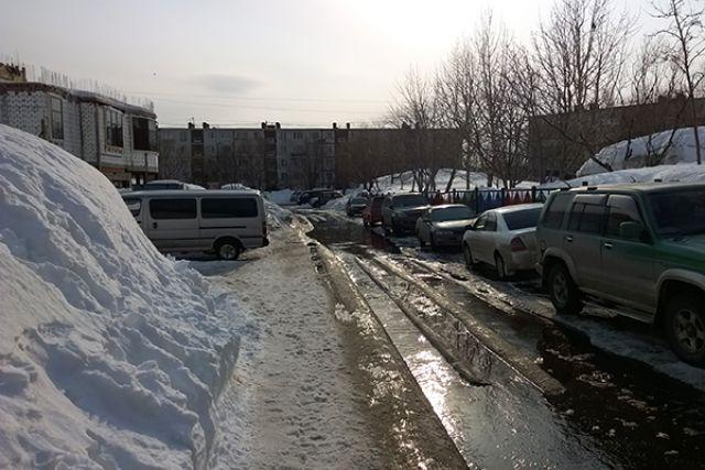 Такая погода перед Новым годом в Сибири бывает не часто...