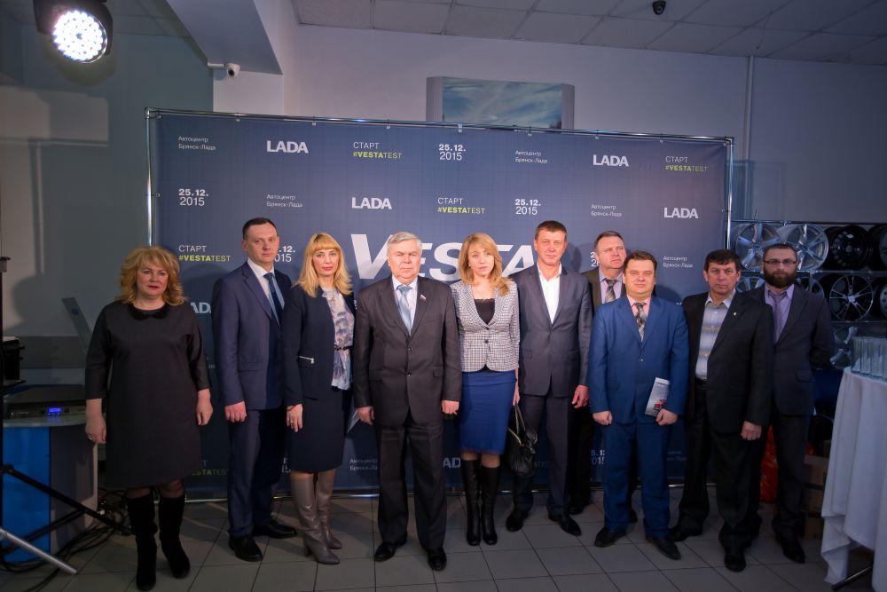 Депутат Госдумы Виктор Малашенко также присутствовал в автоцентре #VESTASTART #VESTATEST #LADA #VESTAVBRYANSKE