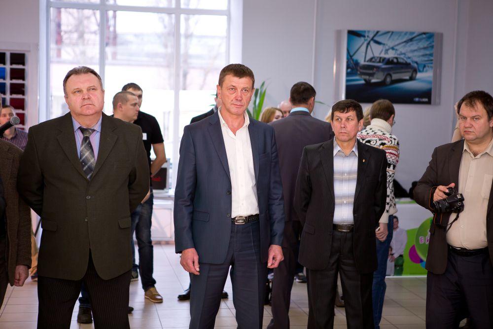 Презентацию посетили глава Фокинского района Брянска Виктор Филипков