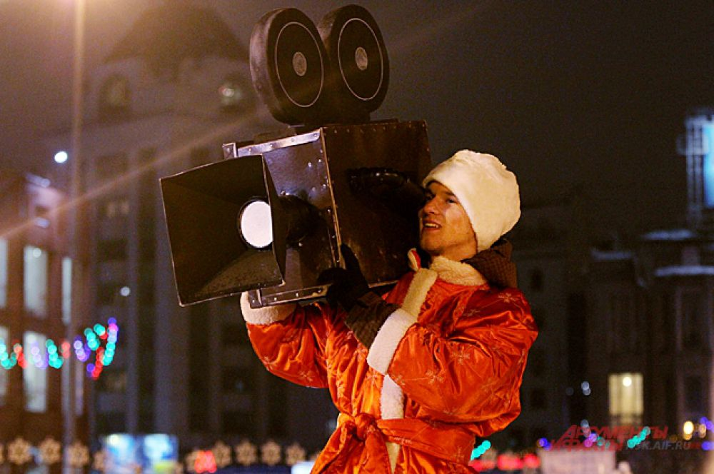 Анатолий Локоть мэр Новосибирска подписал указ о том, чтобы снять  в Новосибирск «СНЕЖНое кино».