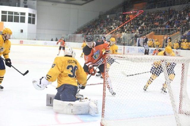 09:04 0 1  Пензенский Дизель потерпел поражение в последнем матче годаОднако тренер команды доволен своими хокк