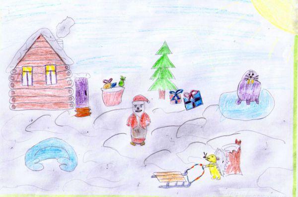 Участник №116. Арцывенко Влиса: На дворе полно снежка Я леплю снеговичка Руки, ноги, голова Нос – морковка, глаза – два.