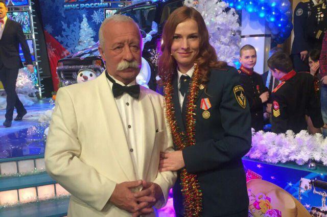 Ирина Голушко и Леонид Якубович.