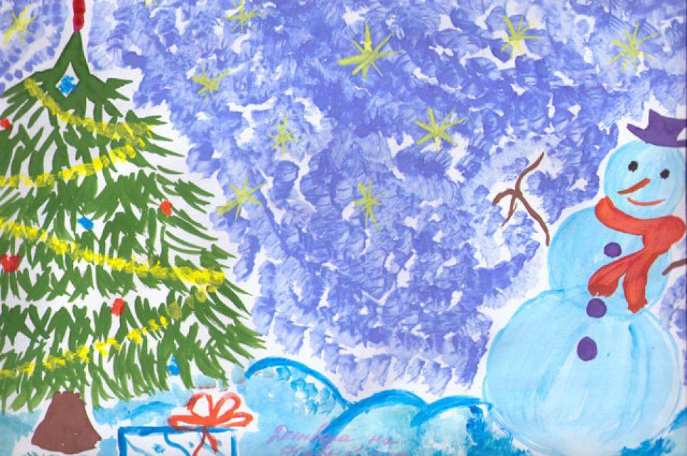 Участник №131. Шишкин Гоша: Детвора на Новый год  Очень ждет подарки Все игрушки мастерят Украсят елку ярко!