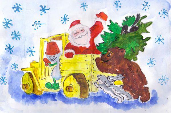 Участник №134. Федотов Михаил: Скоро, скоро к нам придет Долгожданный Новый год! И подарков целый воз Приготовит Дед Мороз!