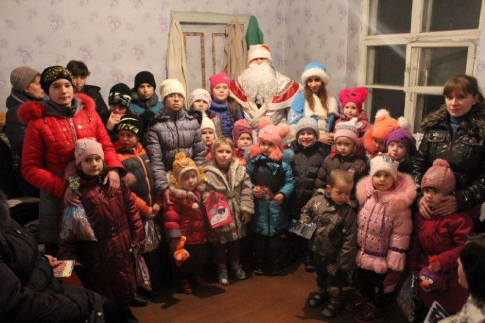 С детьми Новороссии