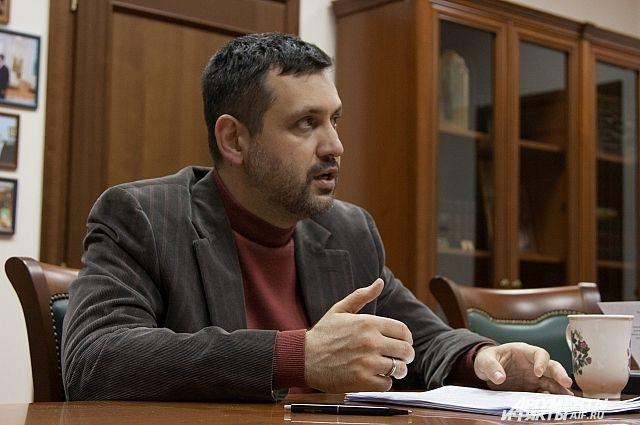 Председатель Синодального отдела по взаимоотношениям Церкви с обществом и СМИ Русской православной церкви Владимир Легойда