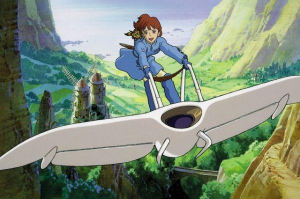 В 1982 году в журнале Animage началась публикация манги авторства Миядзаки «Навсикая из Долины ветров», после чего автору поступило предложение от руководства Tokuma Shoten экранизировать своё произведение. Вышедший в 1984 году одноимённый фильм приобрёл всемирный успех, серьёзно вдохновивший Миядзаки.