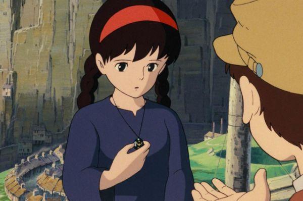 Для работы над следующим аниме Миядзаки и его друг Исао Такахата организовали анимационную «Студию Гибли», на которой были сняты многие ставшие впоследствии известными анимационные фильмы. «Небесный замок Лапута» (1986), погружает зрителя в альтернативную реальность, соответствующую началу XX века, и знакомит с девочкой по имени Сита, в руках которой находится Летающий Камень.