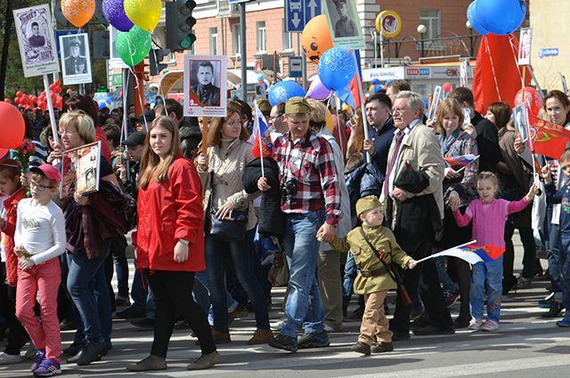 Многим год запомнился многотысячным шествием «Бессмертного полка» в день празднования 70-летия Победы.