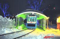 На каникулах омичи наконец-то прокатятся на метро. Правда, на игрушечном.