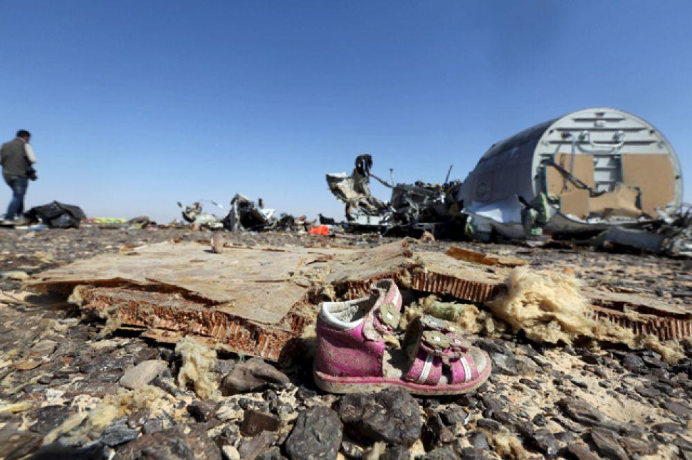 Крушение самолета А-321 над Синаем, 1 ноября 2015.
