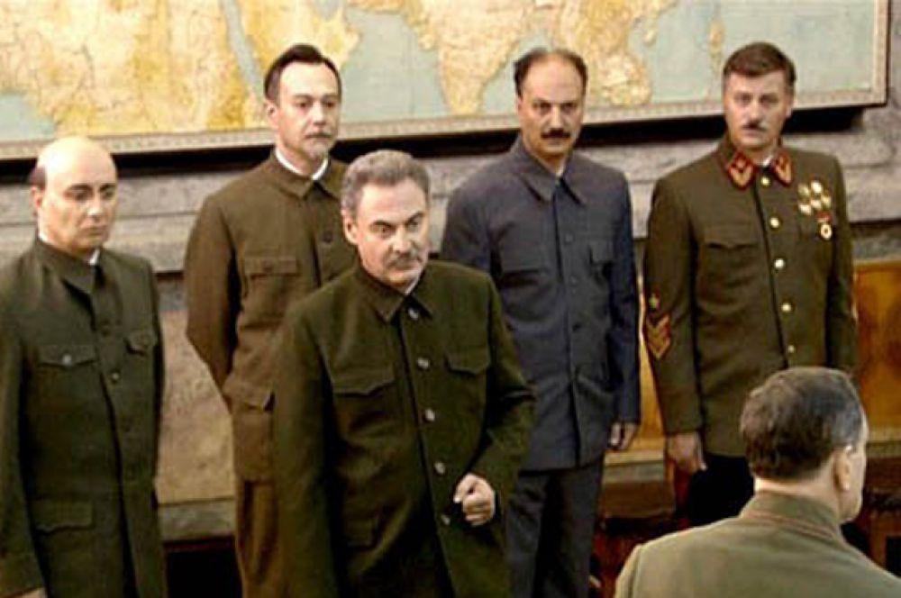 В телесериале «Московская сага» (2004) роль вождя исполнил Владимир Миронов.