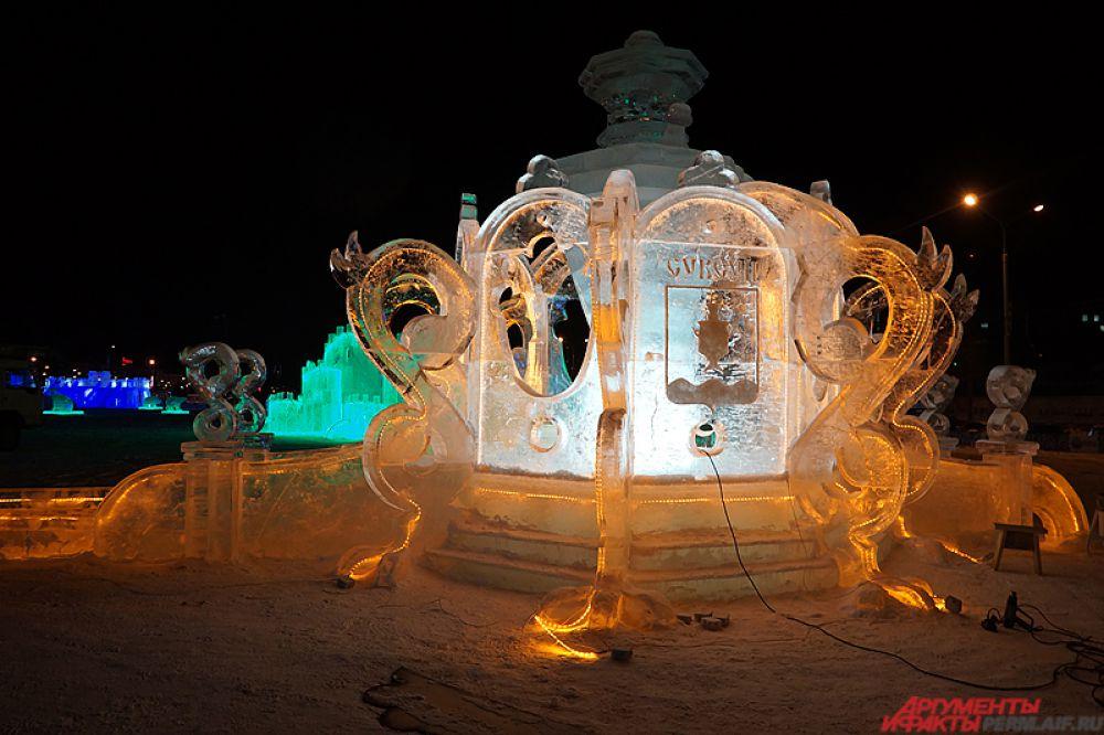 Ледовый городок «Пермь Великая» открылся для всех желающих в четверг, 31 декабря, на эспланаде.