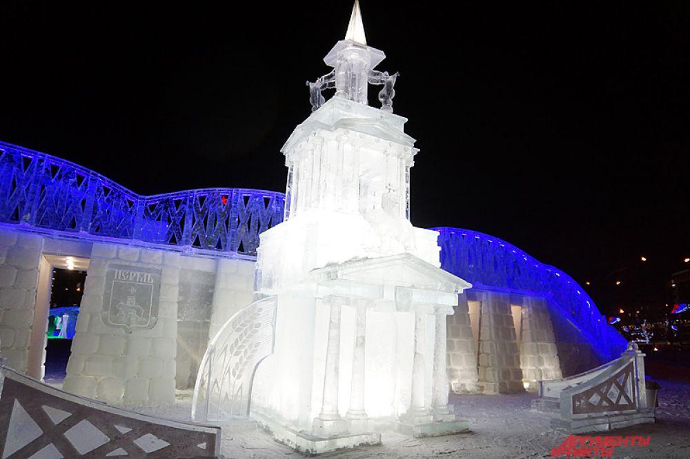 Городок посвящен городам Прикамья, их архитектурным и историческим особенностям.