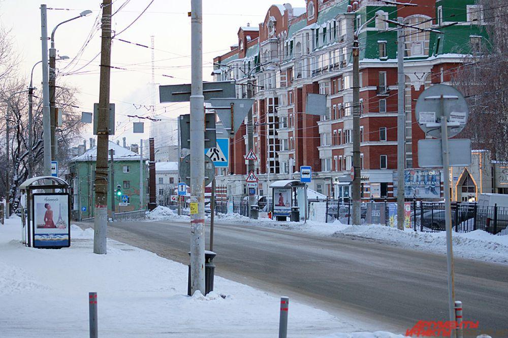 Улица Монастырская.