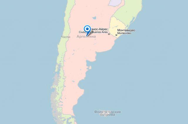 Власти Аргентины подтвердили притязания на Мальвинские острова
