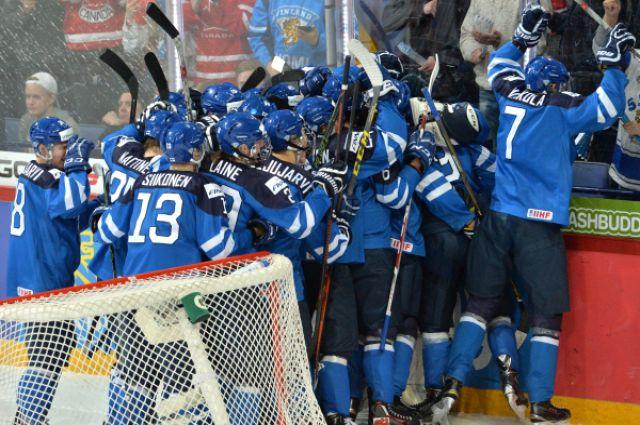 Игроки молодежной сборной Финляндии